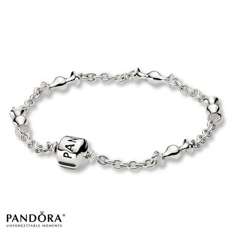 jared pandora 7 5 quot bracelet 5 clip station sterling silver