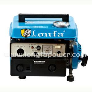 china 400w 750w small portable home use gasoline generator