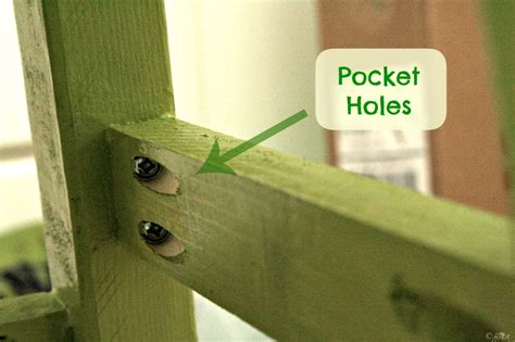 pocket holes woodworking kreg jig happyandsimple
