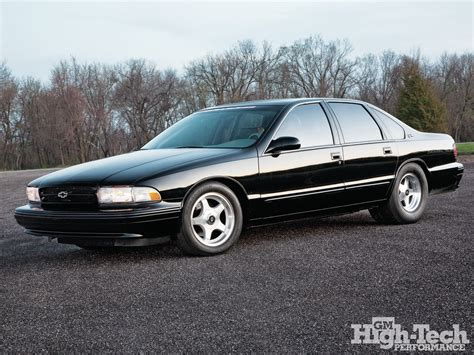 1996 impala ss performance parts 1996 chevy impala ss features gm high tech performance