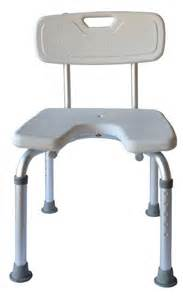 shower bench u shape with backrest ability assist