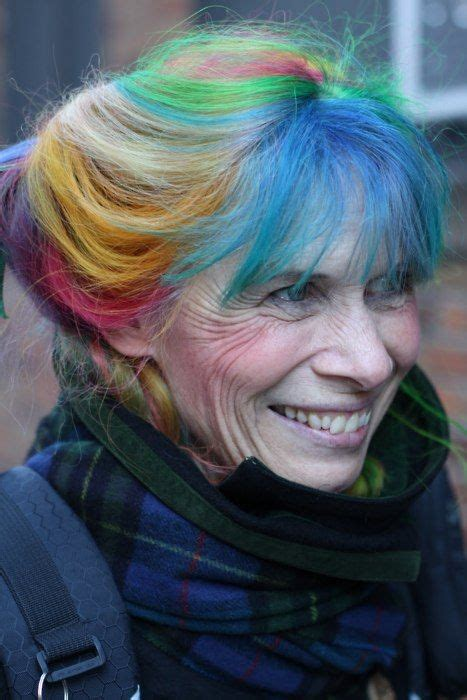 pictures of people who colored their hair with loreal feria b16 18 best images about dyed hair never too old for colors