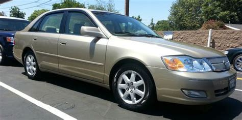 how to sell used cars 2001 toyota avalon seat position control sell used 2001 toyota avalon xls in tarzana california united states for us 5 999 00