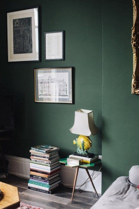green paint for bedroom walls 25 best images about interiors dark green walls on