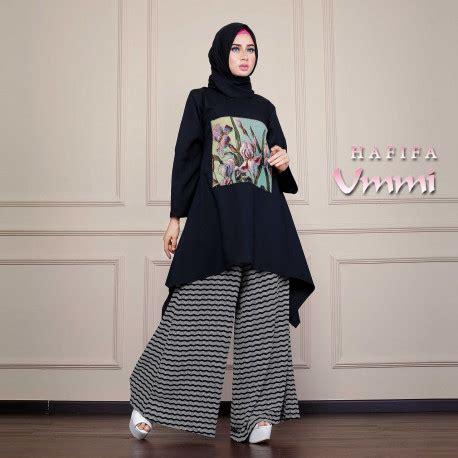 Azrela By Agoest Hanggono hafifa black pusat busana gaun pesta muslim modern