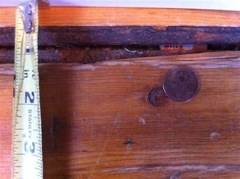 hardwood floor   How to fix gaps between flooring planks