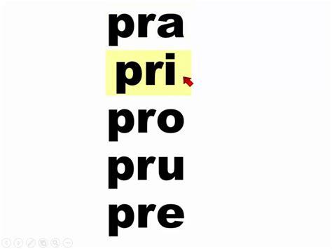 imagenes con palabras pra pre pri pro pru silabas pra pre pri pro pru praprepripropru youtube