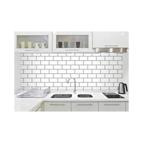 fine decor white ceramica subway tile wallpaper fine decor ceramica subway tile effect wallpaper white