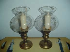 Glass Globes For Candles Brass And Glass Globe Candle Holder Candle Ls W Candles