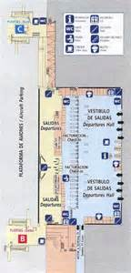 Cafeteria Floor Plan Terminal 2 Departures At Malaga Airport