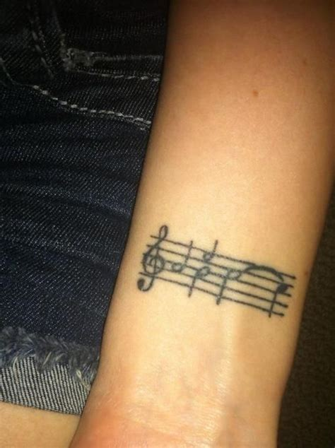 music staff tattoo designs best 25 staff ideas on sheet