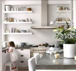 Ideas For Kitchen Shelves by Natural Modern Interiors Open Kitchen Shelves Ideas