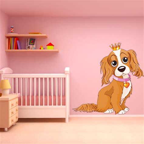 wandtattoo kinderzimmer hund wandtattoos folies wandsticker hund
