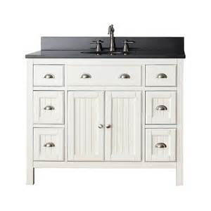Bathroom Vanities At Lowes by Avanity Hamilton Vs42 Fw Hamilton 42 In Bathroom Vanity