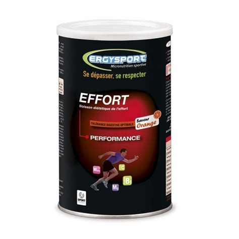 hydration gout ergysport effort go 251 t orange 450 g nutergia pendant