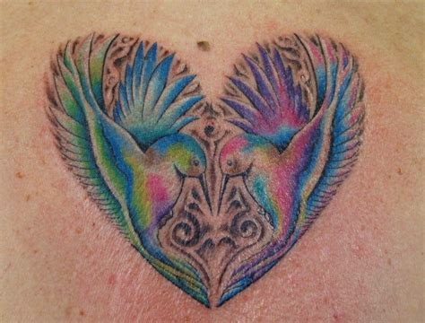 est 1995 tattoo my humming birds dermagraffiti and piercing
