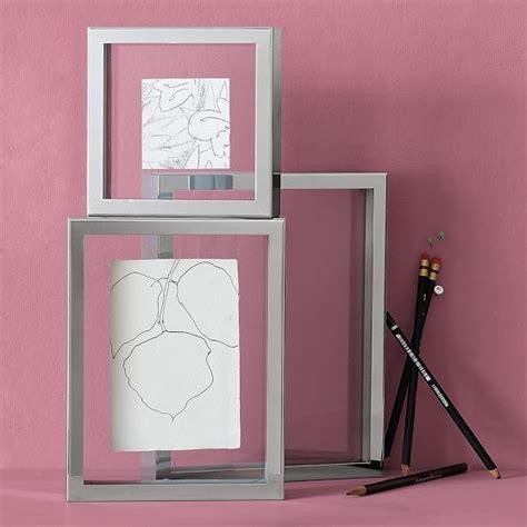 photofiddle floating frame floating frames float steel box floating frames modern picture frames by
