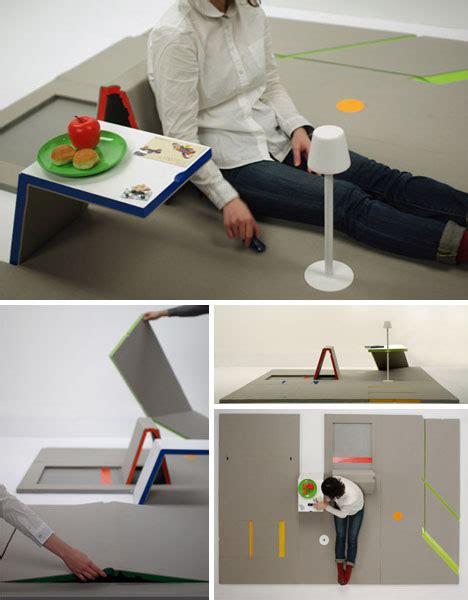 Mat Furniture by Make Room Small Space Saving Flat Pack Furniture Mat