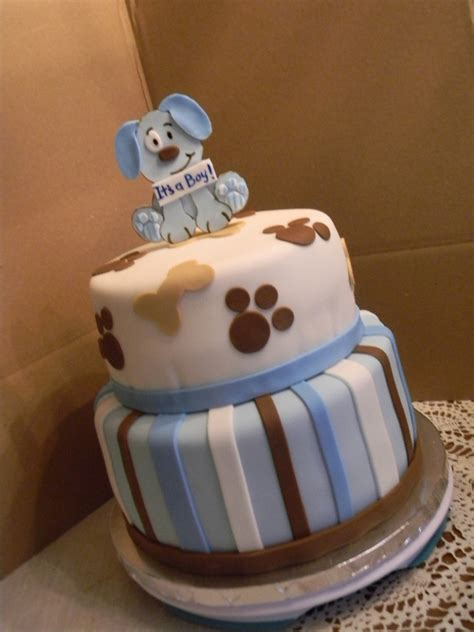 Puppy Baby Shower Theme by Puppy Theme Baby Shower Cakecentral