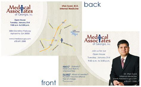 postcards announcements practice web site