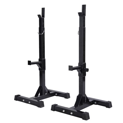 bench press weight rack barbell power rack stand gym squat heavy duty adjustable press weight bench ebay