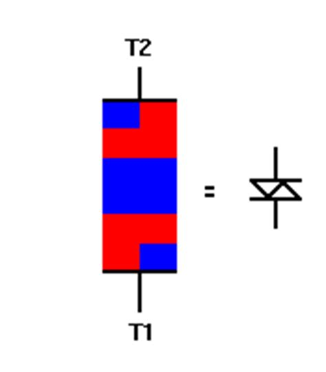 trigger diode symbol diac