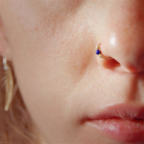 plated indian gold nose rings for