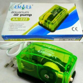 Pompa Udara 2 Lubang Amara Q6 Air Aerator Bonus Selang 1 2 Meter Aerator 1 Lubang Amara Aa 222 Bibitbunga