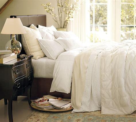 all white bedding cozy cream bedding bedroom pinterest