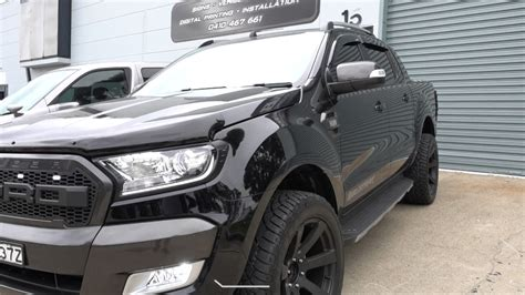 Accessories Ford by All New Ford Ranger Accessories Mkii 2017 Wildtrak