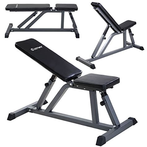 ab incline bench goplus 174 adjustable folding sit up ab incline abs bench