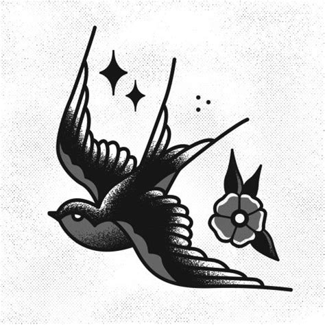 old school swallow tattoo designs 1000 ideas about sparrow design on