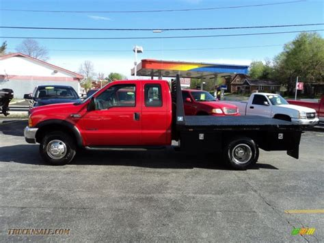 flat bed ford 2000 ford f350 super duty lariat crew cab 4x4 dually flat