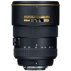nikon af s dx zoom nikkor 17 55mm f 2 8g if ed lens 2147 b h