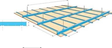 r 233 aliser un plafond en plaques sur ossature m 233 tallique suspendue maison travaux