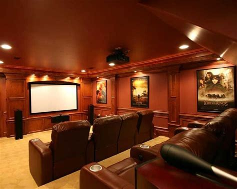 home theater design gallery photos home theater designs beautiful wood trim and