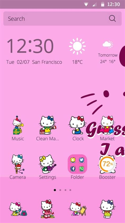 free hello kitty themes to download hello kitty theme free android theme download appraw