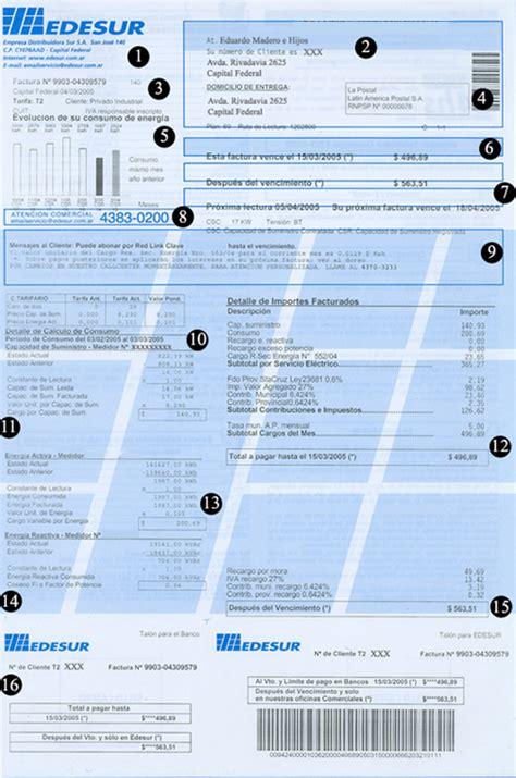 como acceder a factura social edesur tarifa de edesur afinidad el 233 ctrica
