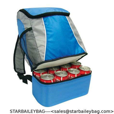 Lunch Bag Foil Slempang Karakter sling fishing cing water beverage food foil 6 cans cooler backpack lunch bag