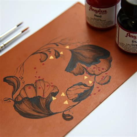 angelus paint netherlands painted leather leica on behance
