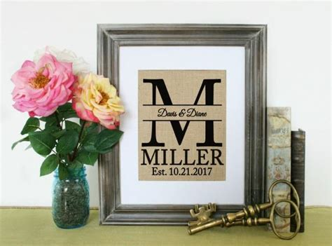 Personalized Home Decor Gifts by Personalized Shabby Chic Home Decor Home Decor Gift