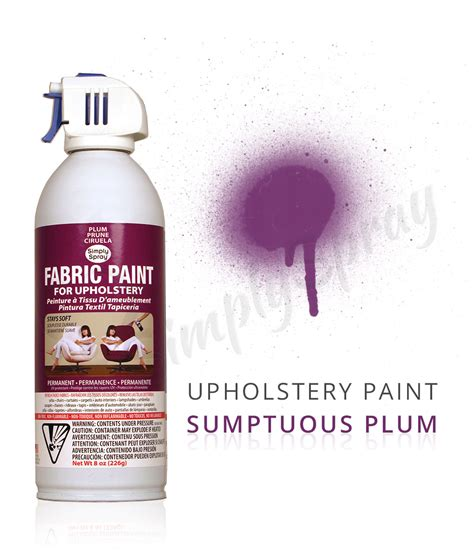 upholstery fabric dye spray plum fabric dye spray paint quick easy effective