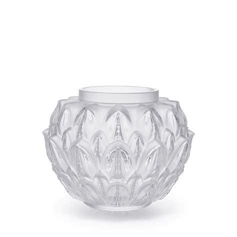 lalique vasi cynara vase clear lalique vase lalique