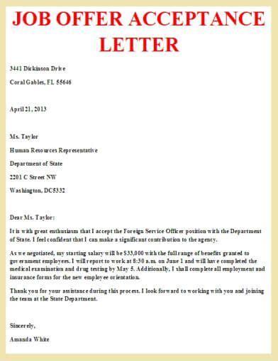 offer acceptance letter letter