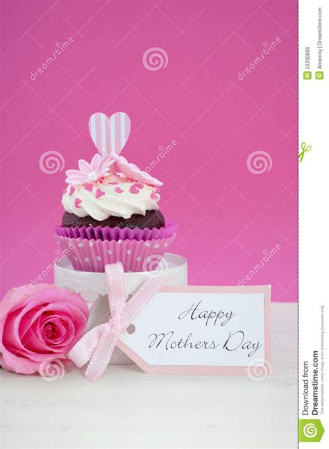 Skinnova Whitening Complete Day Pink happy mothers day pink and white cupcake stock photo image 53205886