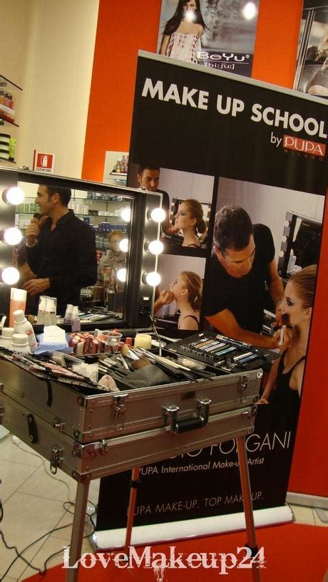 douglas porte di catania make up school by pupa con giorgio forgani a catania