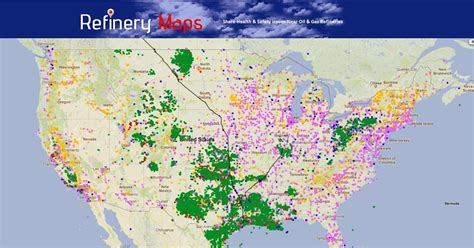 houston heat map refinery maps all midwest gas pipelines lead to