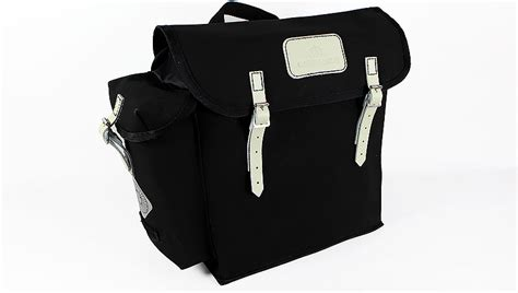 Carradice City Folder M Bag Black White Straps kendal panniers pair used hq