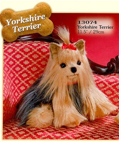 stuffed yorkie stuffed terrier from stuffed ark