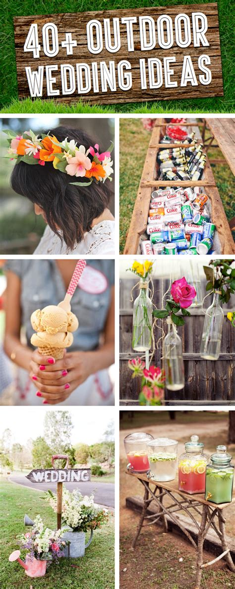 diy outdoor wedding decor ideas 40 breathtaking diy vintage ideas for an outdoor wedding